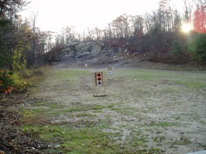 Left side of range